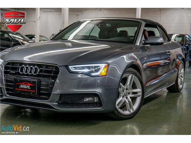 2015 Audi A5 2.0T Technik (Stk: ) in Oakville - Image 1 of 40