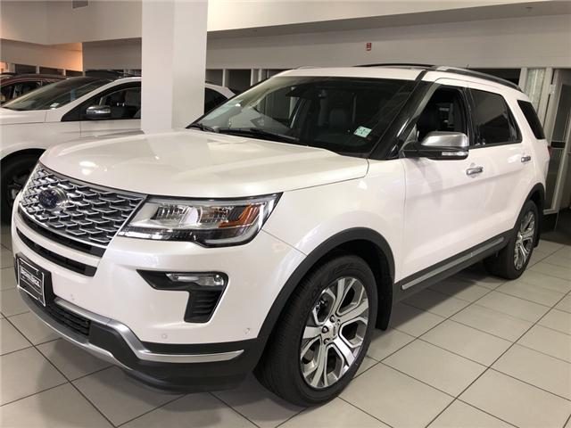 2018 Ford Explorer Platinum (Stk: 186693) in Vancouver - Image 1 of 8