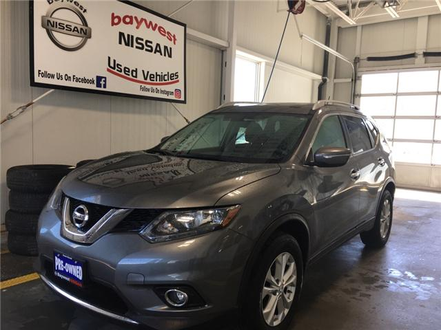 2015 Nissan Rogue SV (Stk: P0672) in Owen Sound - Image 1 of 11