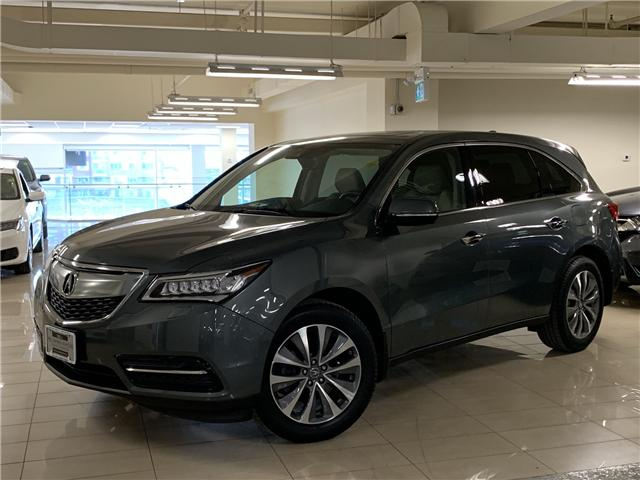 2016 Acura MDX Technology Package (Stk: AP3233) in Toronto - Image 1 of 31