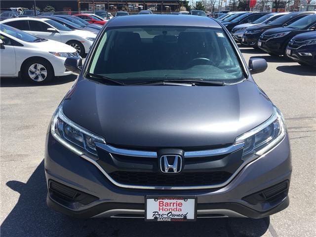 2015 Honda CR-V SE (Stk: U15564) in Barrie - Image 2 of 20