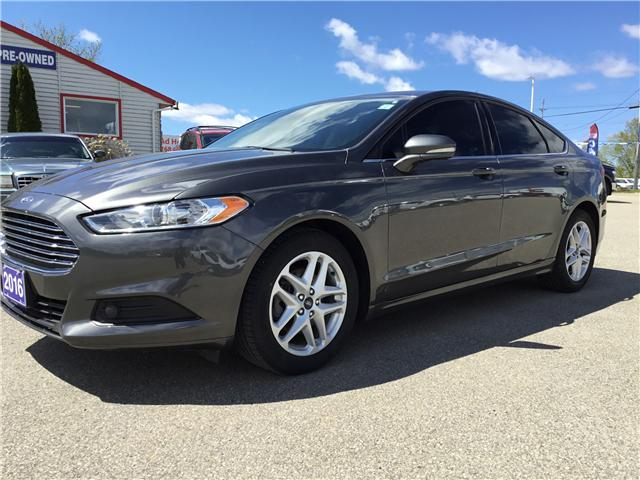 2016 Ford Fusion SE (Stk: A5922RA) in Smiths Falls - Image 1 of 6