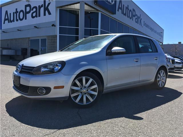 2012 Volkswagen Golf 2.0 TDI Highline (Stk: 12-27706MB) in Barrie - Image 1 of 27