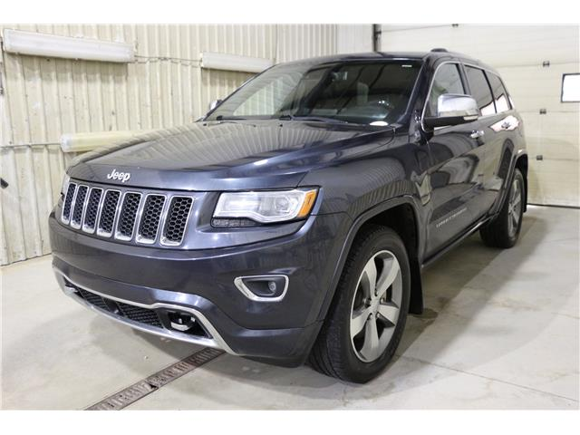2014 Jeep Grand Cherokee Overland (Stk: JT167K) in Rocky Mountain House - Image 1 of 27