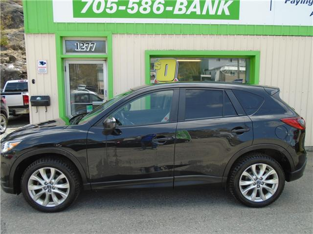 2014 Mazda CX-5 GT (Stk: ) in Sudbury - Image 1 of 6