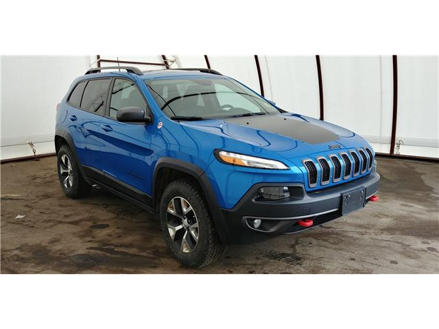 2018 Jeep Cherokee Trailhawk (Stk: 1813501R) in Thunder Bay - Image 1 of 17