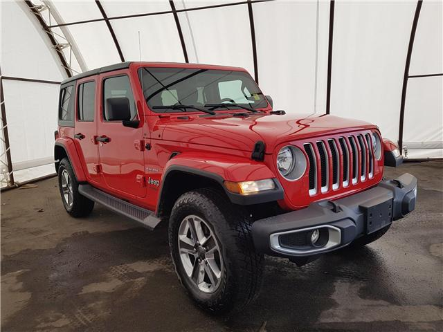 2018 Jeep Wrangler Unlimited Sahara (Stk: 1914401) in Thunder Bay - Image 1 of 21