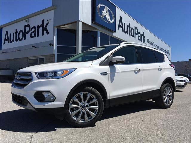 2018 Ford Escape Titanium (Stk: 18-21363RMB) in Barrie - Image 1 of 30