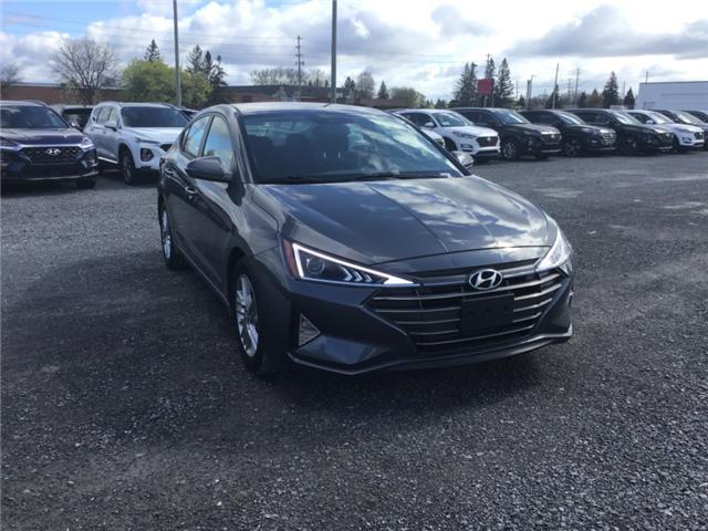 2019 Hyundai Elantra Preferred (Stk: R95132) in Ottawa - Image 1 of 11