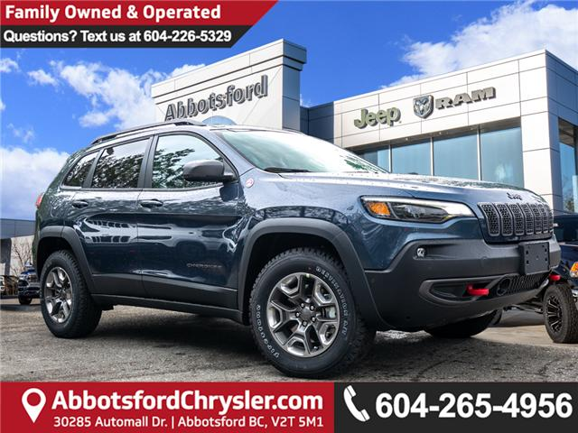 2019 Jeep Cherokee Trailhawk (Stk: K430546) in Abbotsford - Image 1 of 26