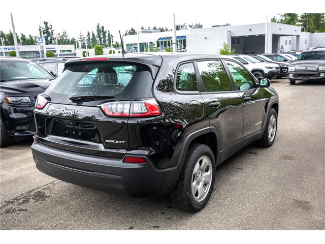 2019 Jeep Cherokee Sport (Stk: K444595) in Abbotsford - Image 7 of 23