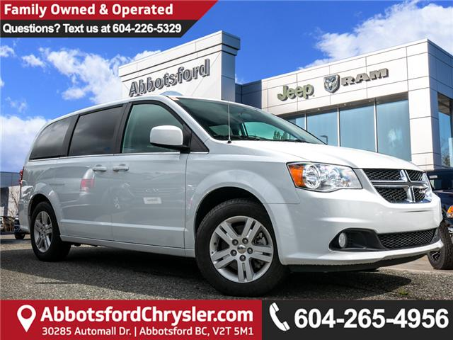 2018 Dodge Grand Caravan Crew (Stk: AB0859) in Abbotsford - Image 1 of 25
