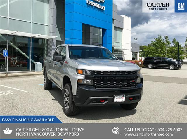 2019 Chevrolet Silverado 1500 Silverado Custom Trail Boss (Stk: 9L0251T) in North Vancouver - Image 1 of 13