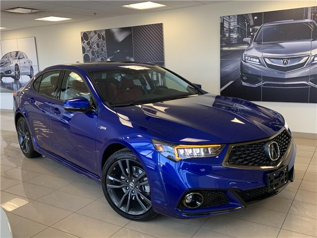 2020 Acura TLX 3.5L SH-AWD w/Tech Pkg A-Spec Red (Stk: TX12686) in Toronto - Image 1 of 10