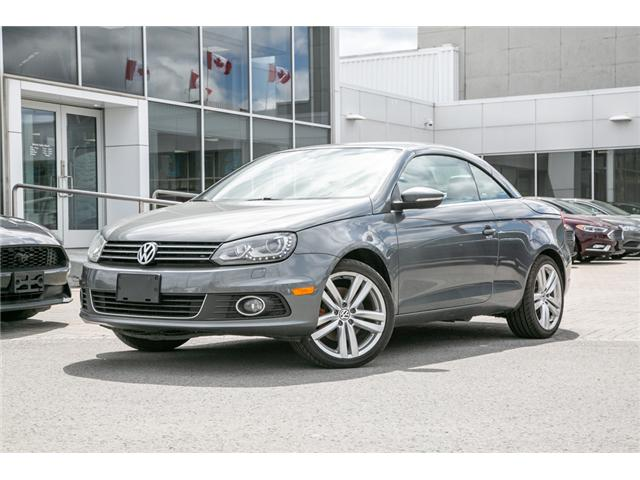 2013 Volkswagen Eos Highline (A6) CONVERTIBLE-LOADED (Stk: 943781) in Ottawa - Image 1 of 24