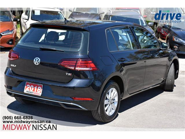 2018 Volkswagen Golf 1.8 TSI Comfortline (Stk: U1702R) in Whitby - Image 10 of 30