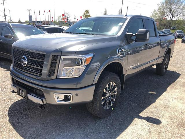 2019 Nissan Titan XD PRO-4X Diesel (Stk: V0432) in Cambridge - Image 1 of 5