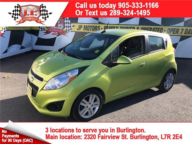 2013 Chevrolet Spark 1LT Auto (Stk: 46837) in Burlington - Image 1 of 15