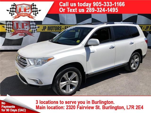 2013 Toyota Highlander Limited (Stk: 46861) in Burlington - Image 1 of 28