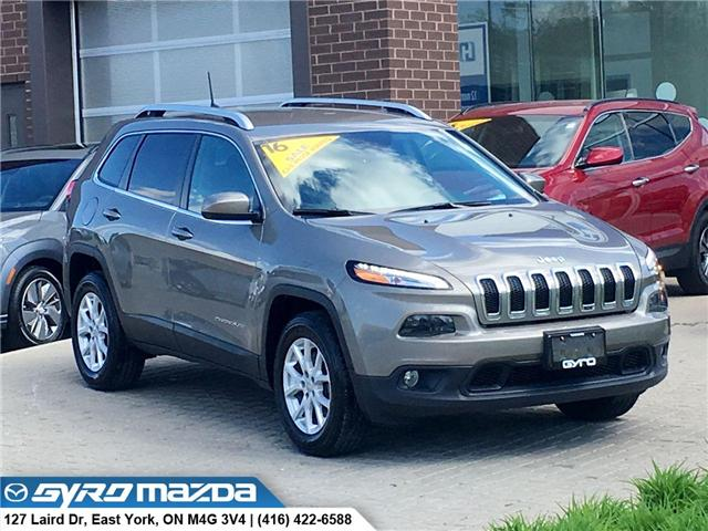 2016 Jeep Cherokee North (Stk: 28570A) in East York - Image 1 of 30