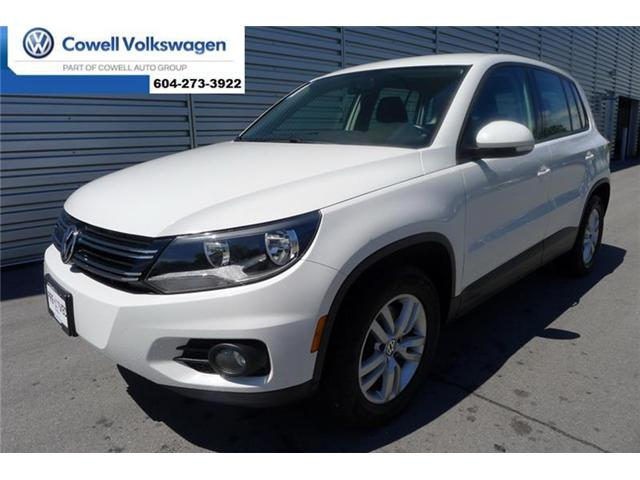 2013 Volkswagen Tiguan 2.0 TSI Trendline (Stk: VWTQ5408B) in Richmond - Image 1 of 28