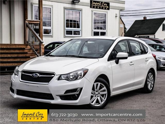 2015 Subaru Impreza 2.0i Touring Package (Stk: 240165) in Ottawa - Image 1 of 30