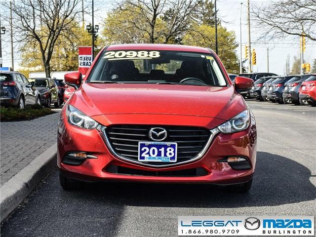2018 Mazda Mazda3 Sport GS -AUTOMATIC, HEATED SEATS AND STEERING WHEEL (Stk: 1778) in Burlington - Image 2 of 23