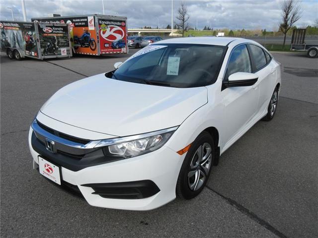 2016 Honda Civic LX (Stk: K14413A) in Ottawa - Image 1 of 17