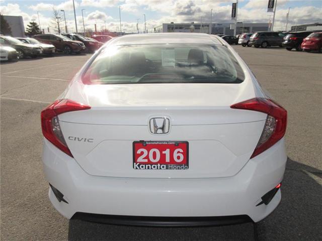 2016 Honda Civic LX (Stk: K14413A) in Ottawa - Image 9 of 17