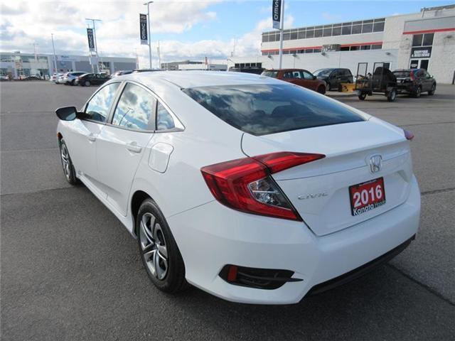 2016 Honda Civic LX (Stk: K14413A) in Ottawa - Image 10 of 17