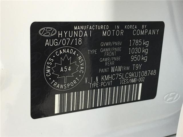 2019 Hyundai Ioniq Hybrid ESSENTIAL (Stk: 35077EW) in Belleville - Image 24 of 27