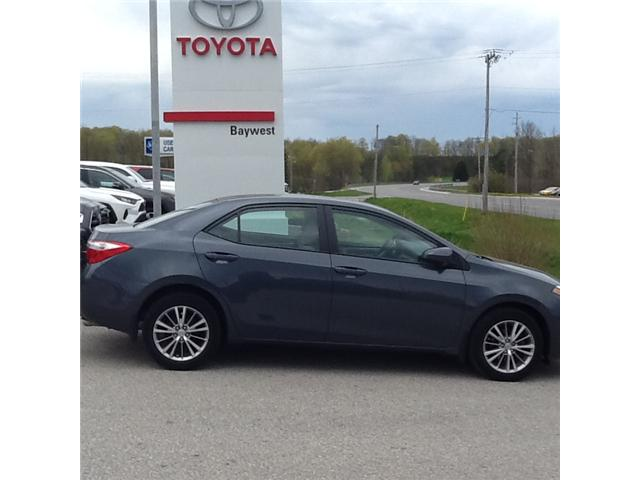 2015 Toyota Corolla LE (Stk: p19034) in Owen Sound - Image 1 of 4