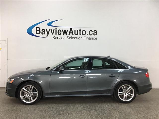 2015 Audi A4 2.0T Technik (Stk: 34919W) in Belleville - Image 1 of 28