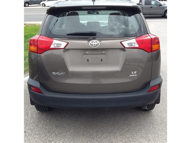 2013 Toyota RAV4 LE (Stk: ) in Owen Sound - Image 4 of 5
