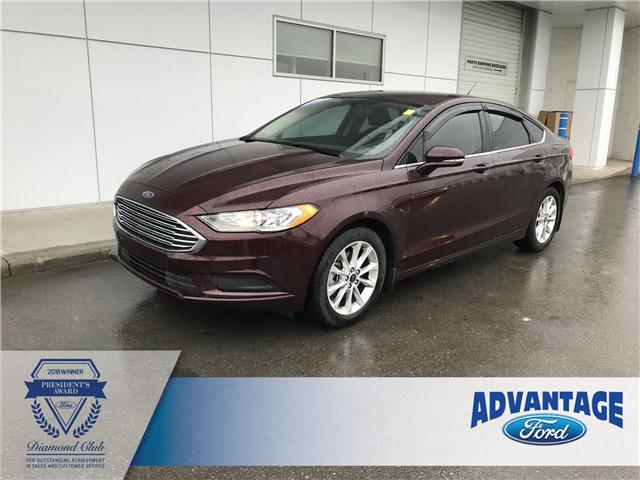 2017 Ford Fusion SE (Stk: K-853A) in Calgary - Image 1 of 16