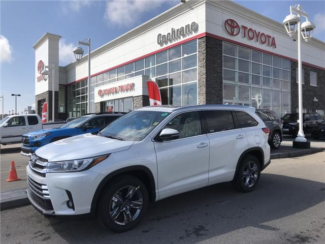 2019 Toyota Highlander Limited (Stk: 190290) in Cochrane - Image 1 of 14