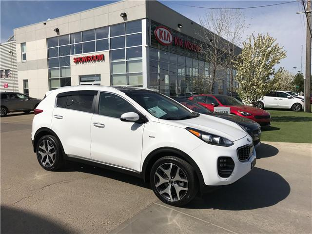 2017 Kia Sportage SX Turbo (Stk: 7308) in Edmonton - Image 1 of 29