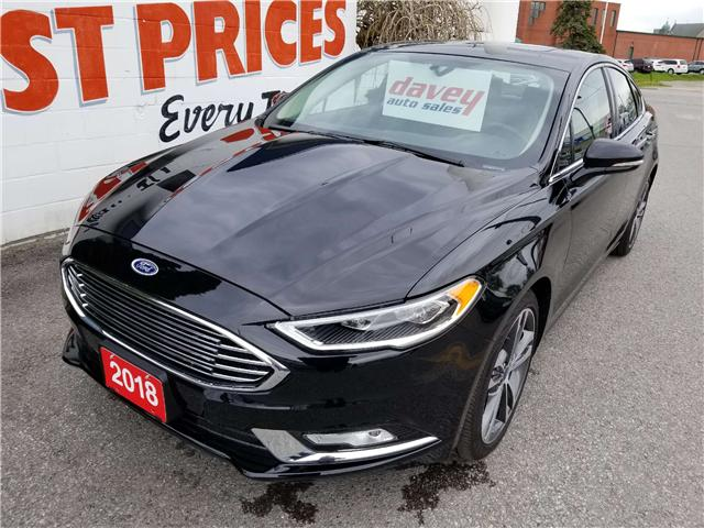2018 Ford Fusion Titanium (Stk: 19-340) in Oshawa - Image 1 of 15