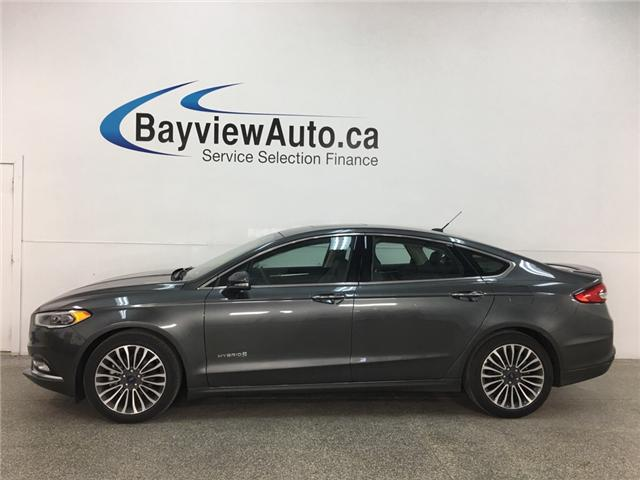 2018 Ford Fusion Hybrid Titanium (Stk: 35016R) in Belleville - Image 1 of 25