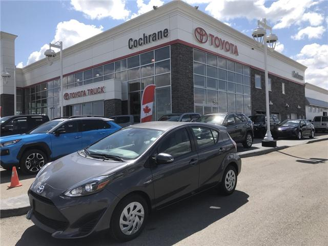 2018 Toyota Prius C Base (Stk: 2856) in Cochrane - Image 1 of 14