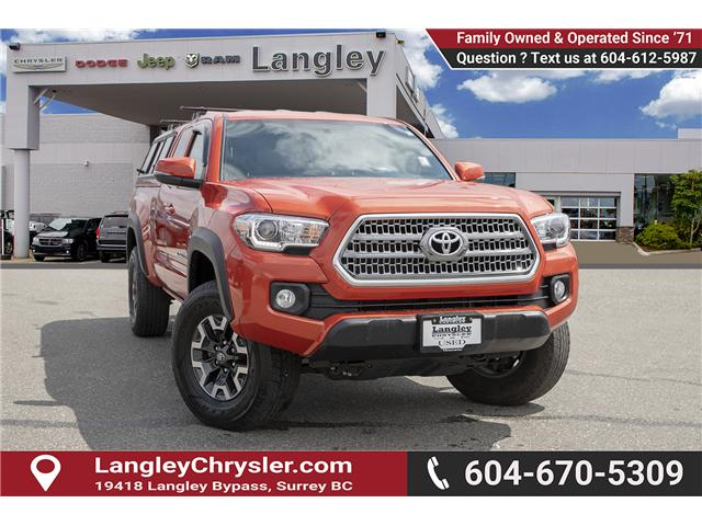 2017 Toyota Tacoma SR5 (Stk: EE900980A) in Surrey - Image 1 of 22