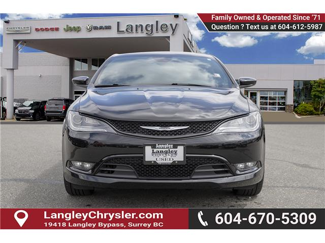 2015 Chrysler 200 S (Stk: K432992A) in Surrey - Image 2 of 27