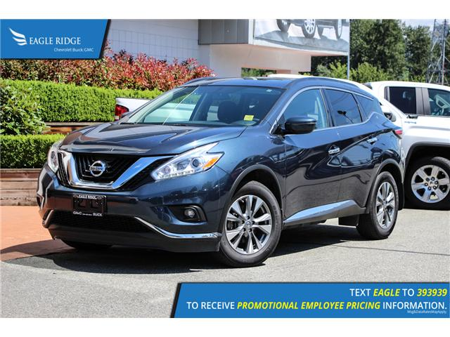 2017 Nissan Murano SV (Stk: 179127) in Coquitlam - Image 1 of 18