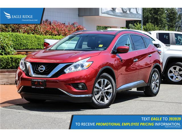 2017 Nissan Murano SV (Stk: 179173) in Coquitlam - Image 1 of 18