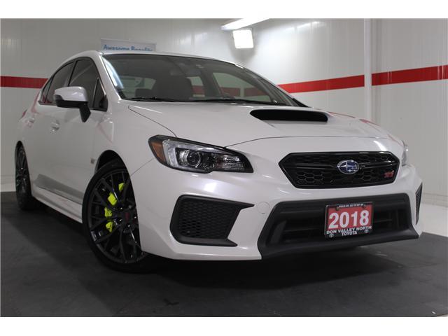 2018 Subaru WRX STI Sport-tech w/Lip (Stk: 298130S) in Markham - Image 1 of 28