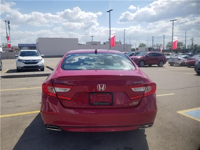 2018 Honda Accord Sport 2.0T (Stk: 2180325D) in Calgary - Image 28 of 30
