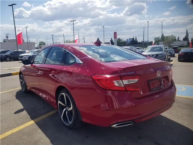 2018 Honda Accord Sport 2.0T (Stk: 2180325D) in Calgary - Image 4 of 30