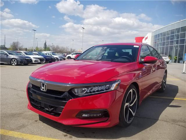 2018 Honda Accord Sport 2.0T (Stk: 2180325D) in Calgary - Image 5 of 30