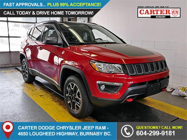 2019 Jeep Compass Trailhawk (Stk: 4667620) in Burnaby - Image 1 of 12