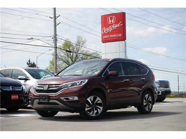 2016 Honda CR-V Touring (Stk: H25939A) in London - Image 1 of 11